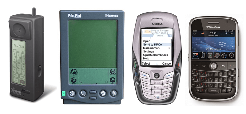 A Very Brief History of Smartphones