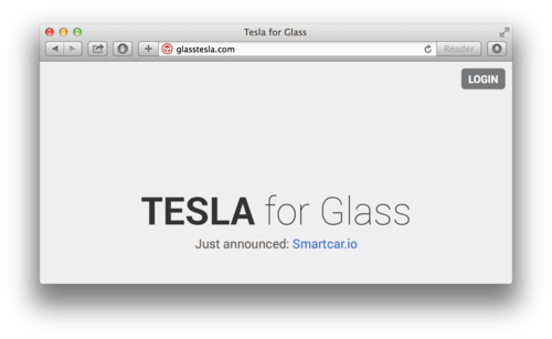 Login to glasstesla